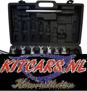Hand pijpenbuiger set met 8 adapters