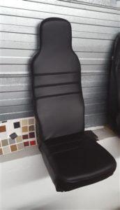 Platte stoel.