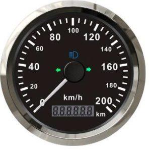 85mm GPS snelheidsmeter 200km/u